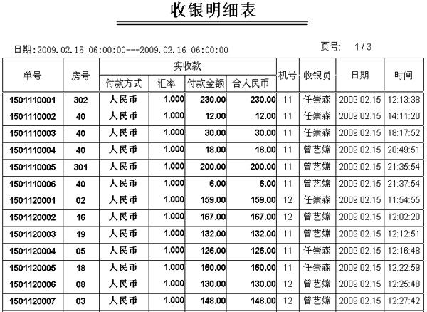 海鲜酒楼收银管理系统 欣欣软件服务网 www.33988.
